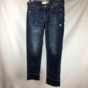 Abercrombie & Fitch Boyfriend Distressed Jeans- 24